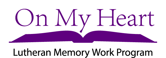 On My Heart Lutheran Memory Work Program